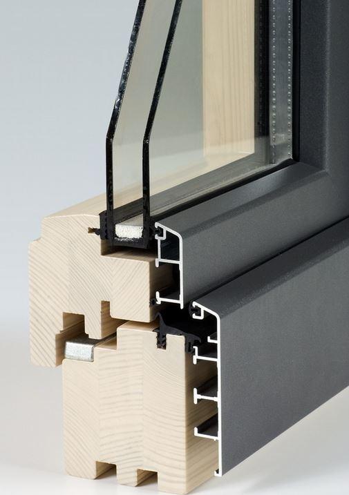 Drewno i aluminium okno Stolarka Piotrków Trybunalski