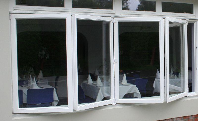 Okna z drewna sliding folding