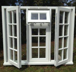 Drewniane okna angielskie - producent